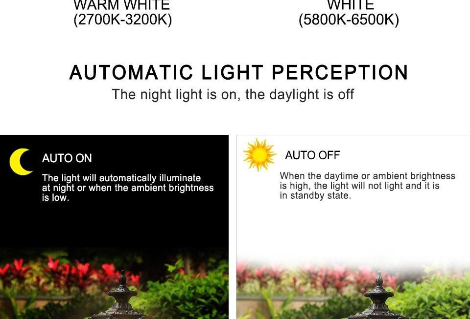 LED PIR Sensor Bulb E27 15W AC 220V 110V Dusk To Dawn Light Bulb Day Night Light Motion Sensor Lamp For Home Garage Lighting (4)