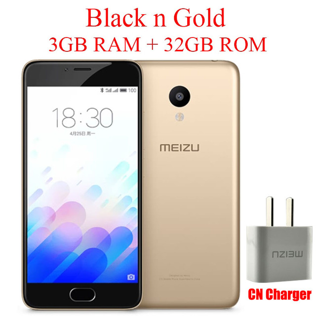 מתוחכם Товар Original Meizu M3 Mini 4G Lte Mobile Phone 3GB 32GB MTK VP-45