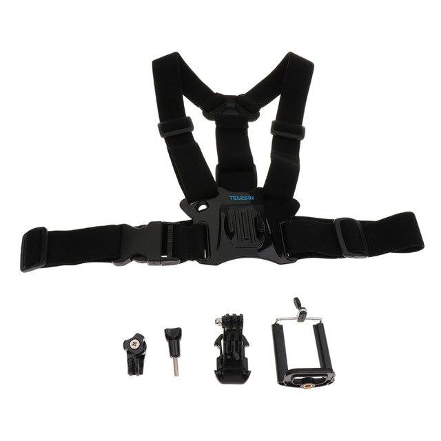 Mobile Phone Chest Mount Harness Strap Holder for Gopro hero5/3/3+/4