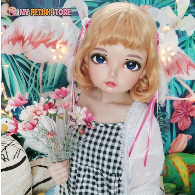 lolita máscara máscara boneca crossdress