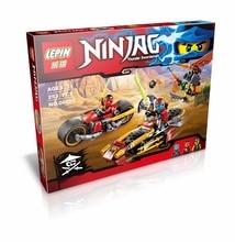 LEPIN 06025 Phantom Ninja Series Airship Assault Spinjitzu Masters Minifigure Building Block Bricks Toys Compatible with Legoe