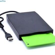 "Дропшиппинг Портативный внешний 3,"" USB FDD дисковод гибких дисков и Plug& Play для ПК Windows 2000/XP/Vista/7/8/10, Mac 8,6 r30"