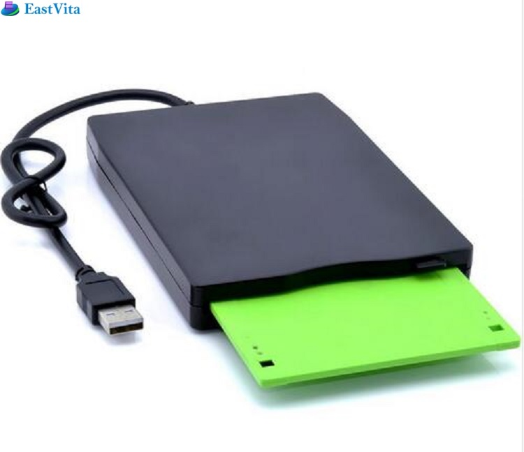 2019 New Dropshipping Portable External 3.5 USB FDD Floppy Disk Drive Plug Play for PC Windows 2000/XP/Vista/7/8/10 Mac 8.6 r30 image