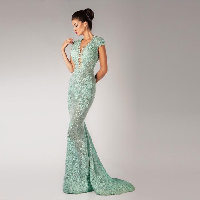 Платья зеленое с блестками