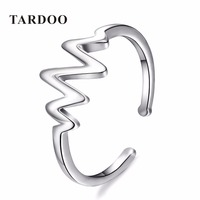 Tardoo New Hot 925 Sterling Silver Opening Rings For Women Compatible With Special Shape Wholesale Fine