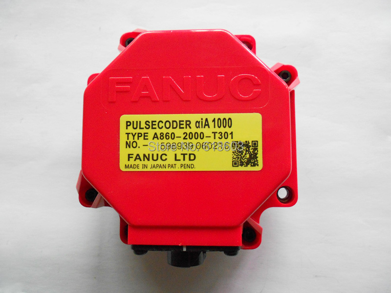 from working cnc machine Alpha iA 1000 Fanuc pulse encoder  a860-2000-t301
