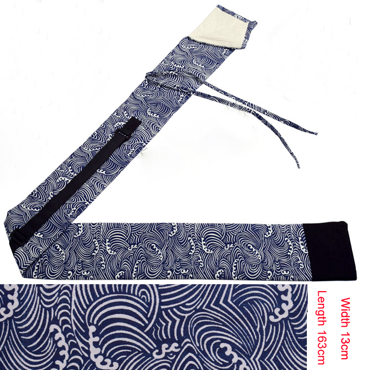 163cm high quality cotton big bag knife tai chi kung fu bag martial arts sword big