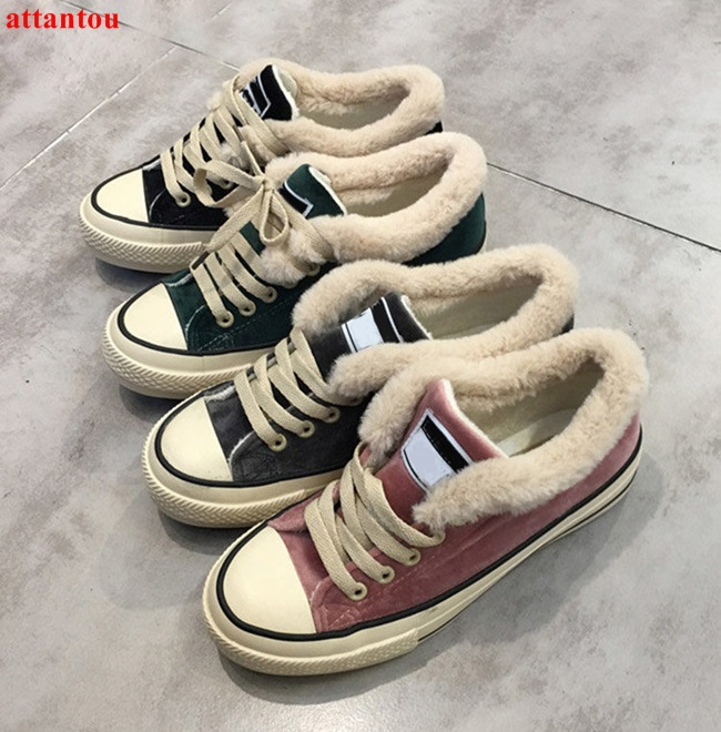 2018 hot sale lace up woman casual shoes warm plush design low top gym shoes female canvas dress shoes autumn winter shoes hot sale 2016 top quality brand shoes for men fashion casual shoes teenagers flat walking shoes high top canvas shoes zatapos