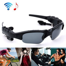 Sunglasses Bluetooth 4.1 Earphone Wireless Headset Smart Stereo Sports Riding Eyes Glasses Colorful Sun lens