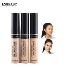 High Quality 3Colors Liquid Pores Firming Whitening Brighten With Brush Convenient Face Concealer