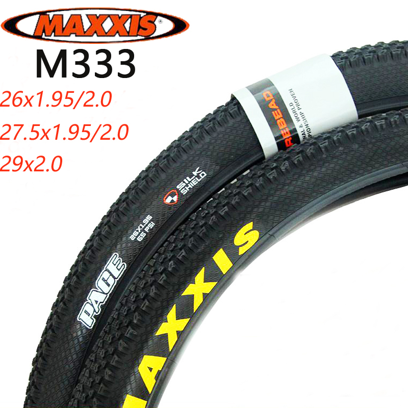 MAXXIS PACE MTB Bicycle Tires M333 26x2.1 1.95/27.5x2.1 1.95 60TPI 1 piece Mountain Bike <font><b>29x2.1</b></font> 1.95 Tire image