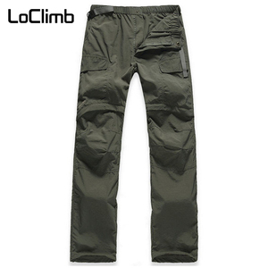 Image 2 - LoClimb Womens Elastic Waist Camping Hiking Pants Women Summer Outdoor Sport Trekking Cycling Travel Quick Dry Trousers,AW031