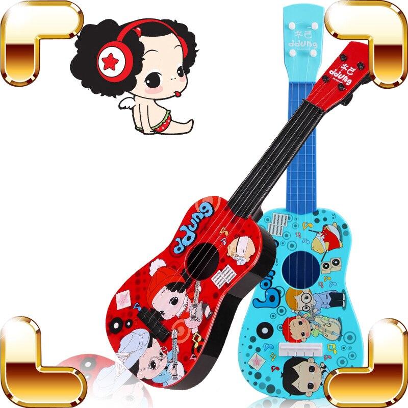 Cadeau de fête des enfants Mini bébé guitare jouet Instrument de musique apprentissage éducation jeu de musique enfants Favour présent outil de jeu