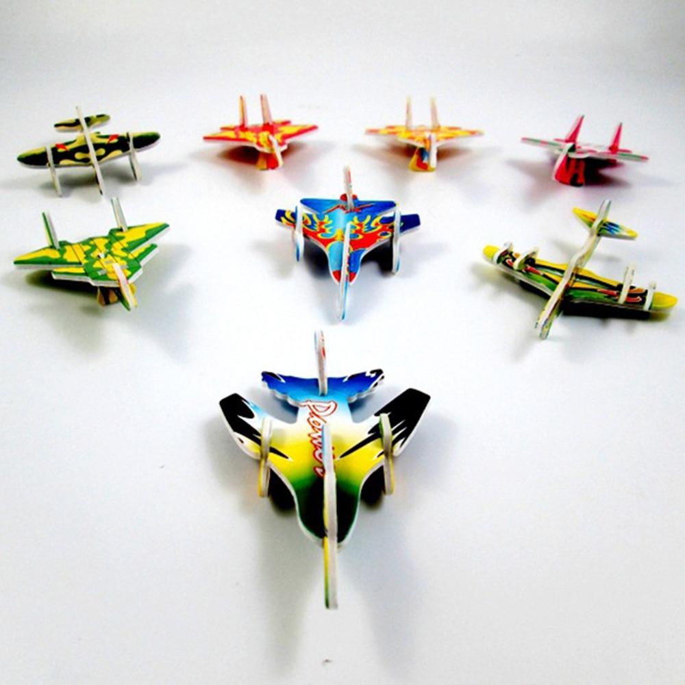 2017 12pcs Diy Hand Throw Flying Glider Planes Foam: New Funny 10Pcs DIY Hand Throw Flying Glider Planes Foam