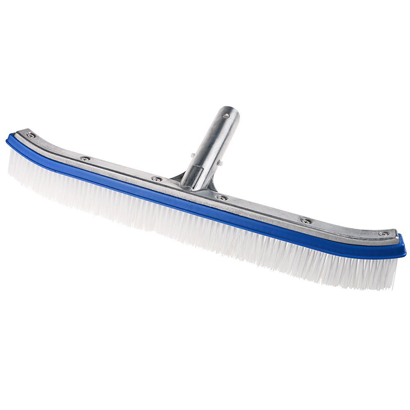 18 inch Swimming Pool Brush Head Spa Algae Plastic Heavy Duty Broom Curved Tools Cleaning Equipment Swimming Pools Accessories