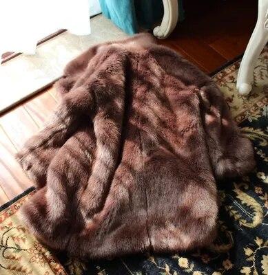 Femmes Mode En 66 Nouveau Gamme Haut Fausse Manteau De Fourrure Sr Style wnxxYZFqa