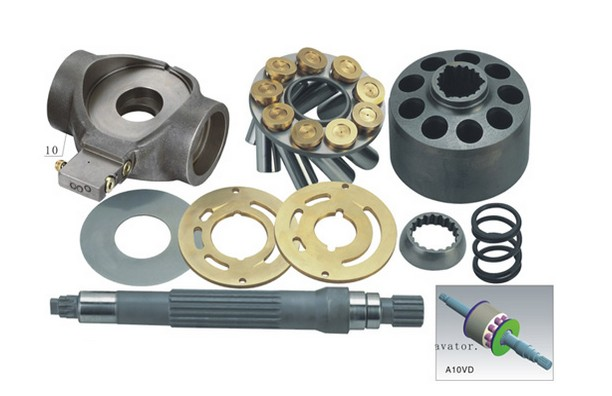 Repair kit for UCHIDA Piston Pump A10VD43 piston cylinder block valve plate pump replacement parts