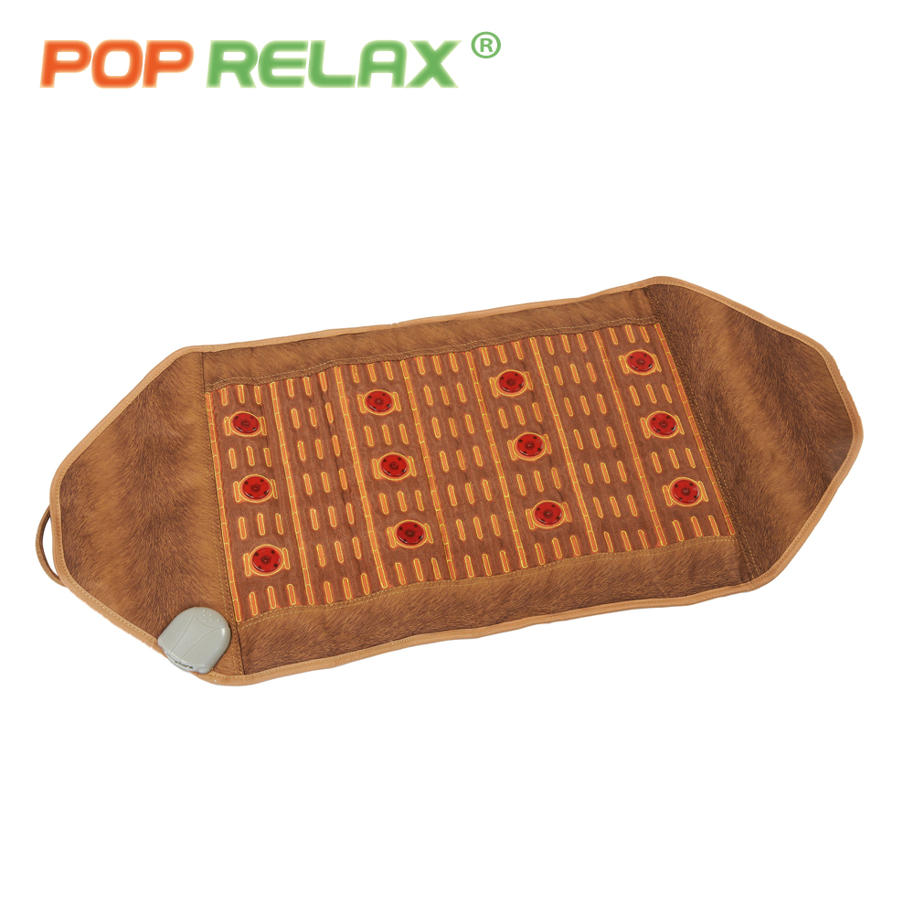 POP RELAX 110V health massage mat stone mattress red photon light therapy tourmaline maifan body pain relief heating mattress pop relax 110v health massage mat stone mattress red photon light therapy tourmaline maifan body pain relief heating mattress