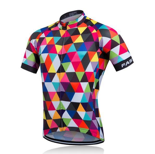 2016 Ropa Ciclismo Jersey Mtb bicicleta Ropa corta Maillot Ropa De Ciclismo Hombre Verano bici jersey