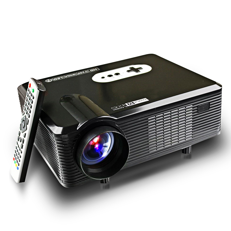 Cl720 3000 Lumens Hd Home Theater Multimedia Lcd Projector: Original Excelvan CL720 ATV 3000 Lumens HD 1280 X 800 LCD