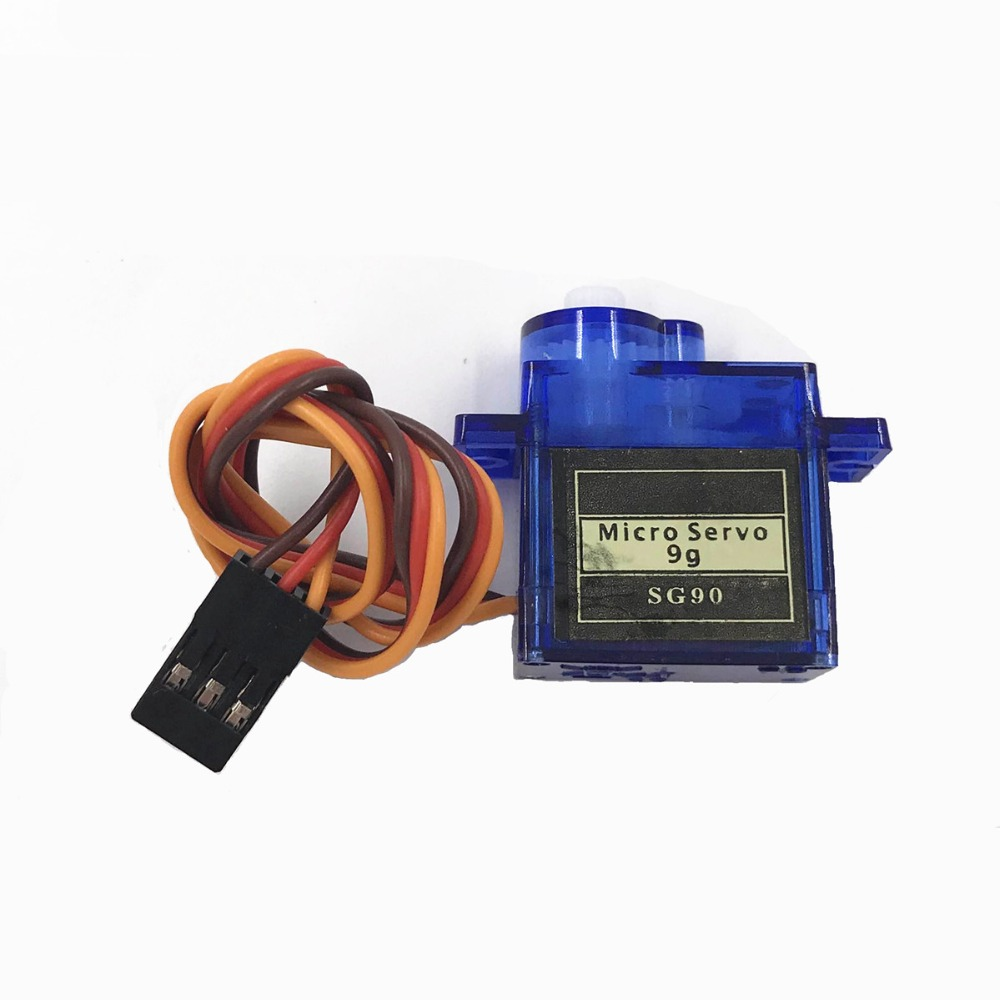 Free Shipping 100% NEW Wholesale SG90 9G Micro Servo Motor For Robot 6CH RC Helicopter Airplane Controls For Arduino