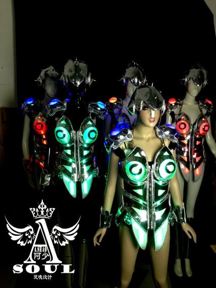 Weibliche Geld 16 Farbe Farbe Überzug ein LED-Korsett Kleid sexy - Partyartikel und Dekoration