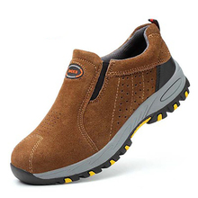 AC13012 Outdoor Steel Toe Work Boots Safety Shoes Air-permeable Smash Mens Labor Insurance Puncture Proof