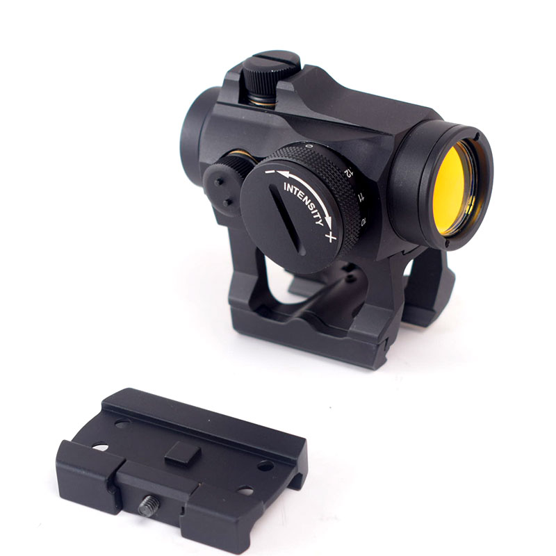 Tactical Red Dot Reflex Optics Sight Scope 20mm Weaver Rail Base Riflescope Optics for Airsoft Rifle Hunting orginal tactical optics red dot sight holographic sight hunting scopes reflex sight with 20mm weaver rail for airsoft