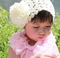2016 Cute Lace Floral Decorate Hair Bands for Baby Beautiful Ornament Headband For Girl Three Colors For Choose