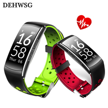 Smart band Q88 IP68 Waterproof Smart Wristband Heart rate Smartband Fitness tracker Smart Bracelet Wearable devices