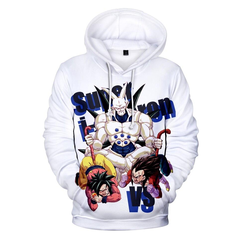 3D Hoodies Men Dragon Ball Anime Sweatshirt Women/Men Long Sleeve Hooded Hot sale Dragon Ball 3D Hoodies Fashion New Sweatshirts hoodie