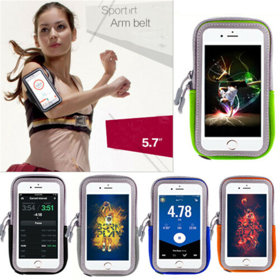 2019 Brand New Sports Armband Running Jogging Gym Unisex Arm Band Pouch Holder Bag Case For Cell Phone