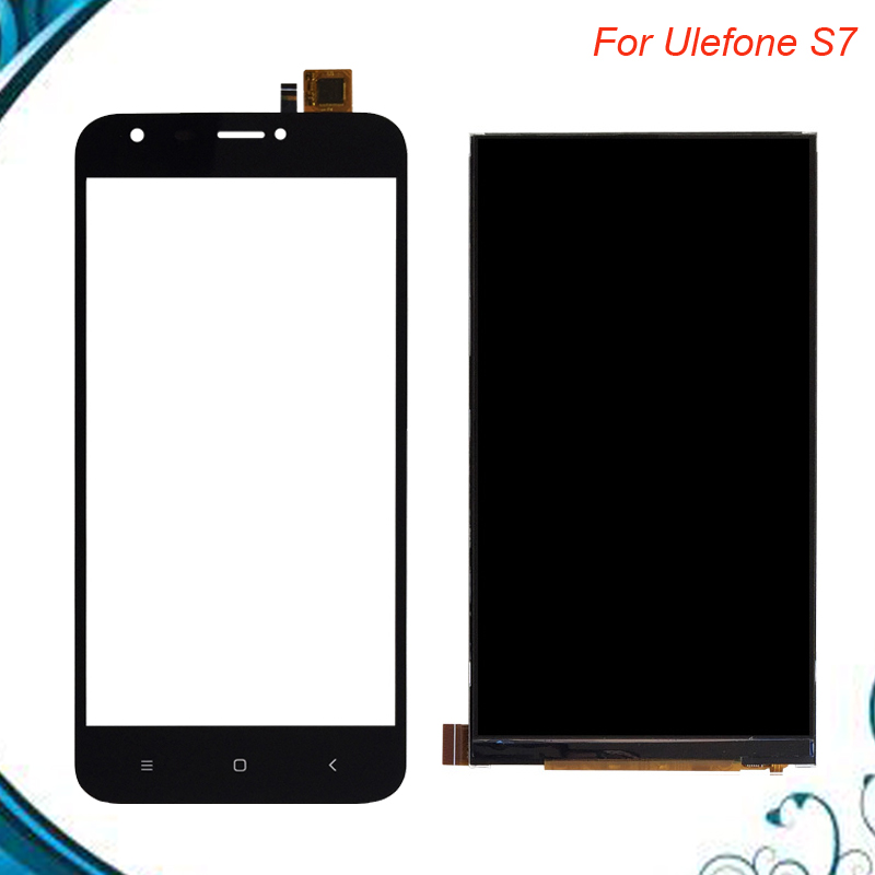 For Ulefone S7 LCD Display+Touch Screen 100% Tested LCD+Digitizer Glass Panel Replacement IN StockFor Ulefone S7 LCD Display+Touch Screen 100% Tested LCD+Digitizer Glass Panel Replacement IN Stock