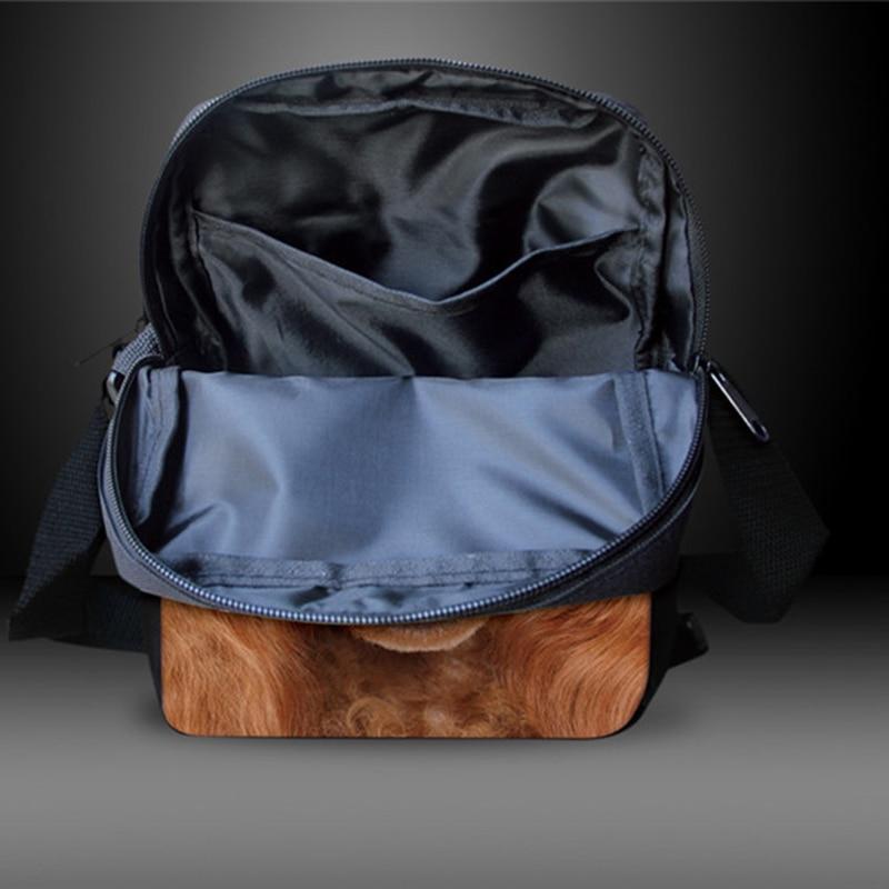 FORUDESIGNS Women Messenger Bags 3D Denim Animal Shoulder Bag - Պայուսակներ - Լուսանկար 5