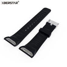 Silicone Strap Watchband For Samsung Gear Fit2 fit 2 SM-R360 GPS Sports Smart Bands Fitness Watch Activity Tracker