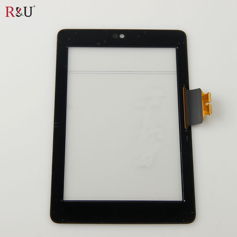 все цены на  R&U Touch Screen Panel Digitizer Sensor Glass Repair Replacement Parts For Asus Google Nexus 7 Tablet me370t 1st Generation  онлайн