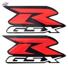 Red Motorcycle R-GSX GSX-R Emblem Stickers Moto Reflective Decals Stickers Case for Suzuki GSXR1000 GSX-R 600 750 1000