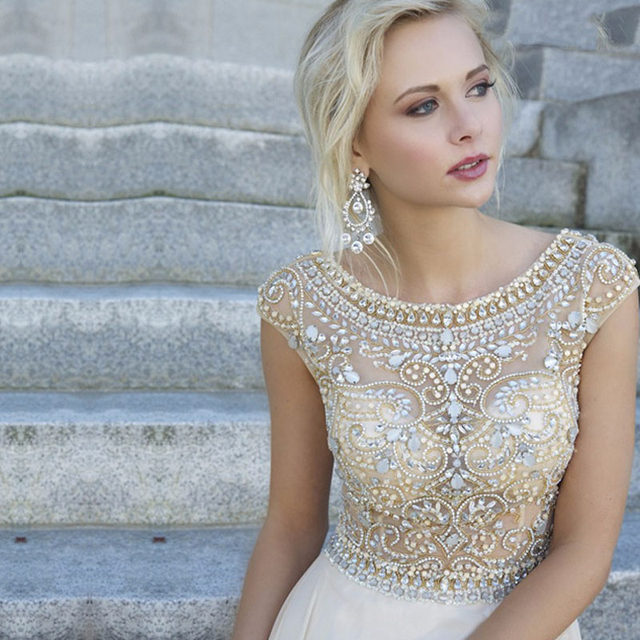 Online Shop Amazon Formal Dresses Party Gown Designs 2017 Luxury ...