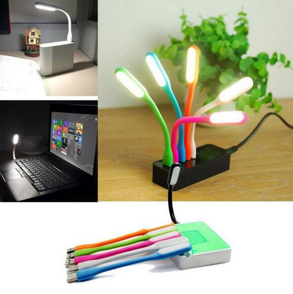 1PC Mini LED USB read Light Computer Lamp Flexible Ultra Bright for Notebook PC Power Bank Partner Computer Tablet Laptop C1