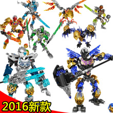 XSZ 612-4 Super heroes Biochemical Warrior BionicleMask of Light Bionicle Tahu Ikir Bricks Building Block Minifigure Best Toys