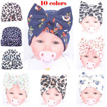 Baby Boy Girls Toddler Infant Kids Children Winter Knit Floral Hat Cap Beanie Party Hats(China)