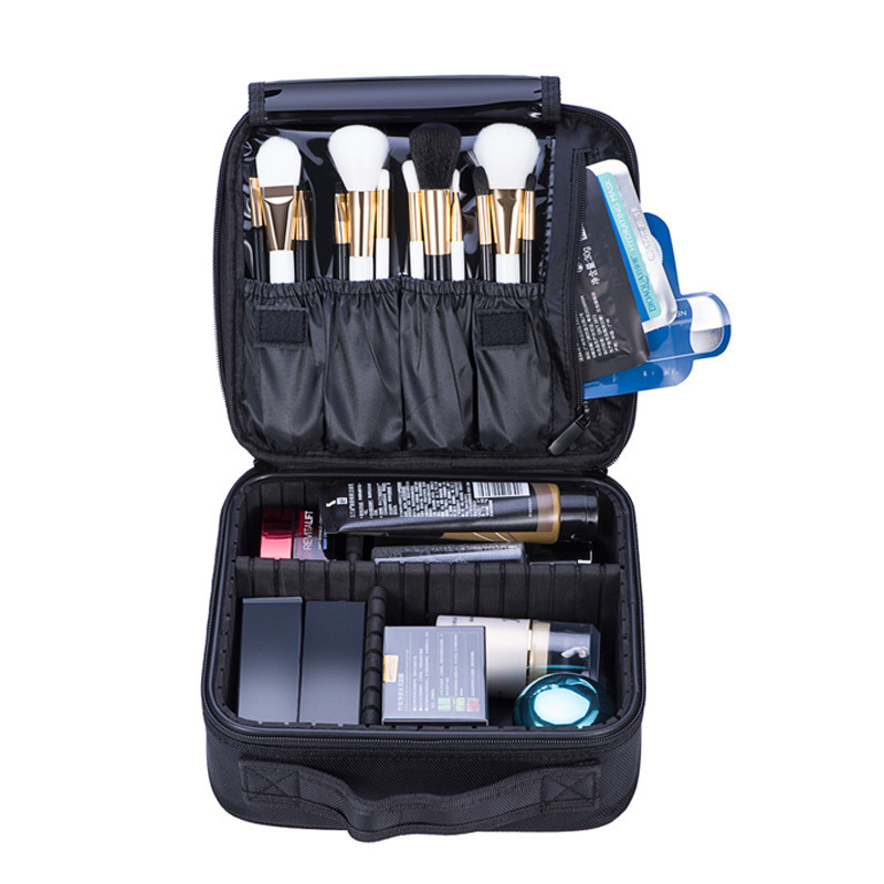 2019 Professional Vanity Cosmetic Bag Organizer Woman Travel Make Up Cases Big Capacity Cosmetics Suitcases For Makeup X3235