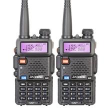 2PCS BaoFeng UV-5R Walkie Talkie VHF/UHF136-174Mhz/400-520Mhz Dual Band Two Way Radio Baofeng uv 5r Portable