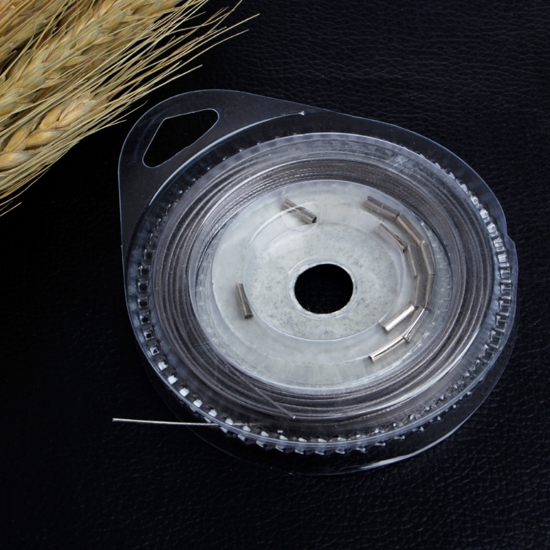 10m Fishing Stainless Steel Line Wire 7 Strands Jigging Traces Lures Accessories in Fishing Lines from Sports Entertainment
