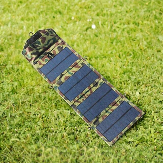 Portable Folding 7W Solar Panel  2