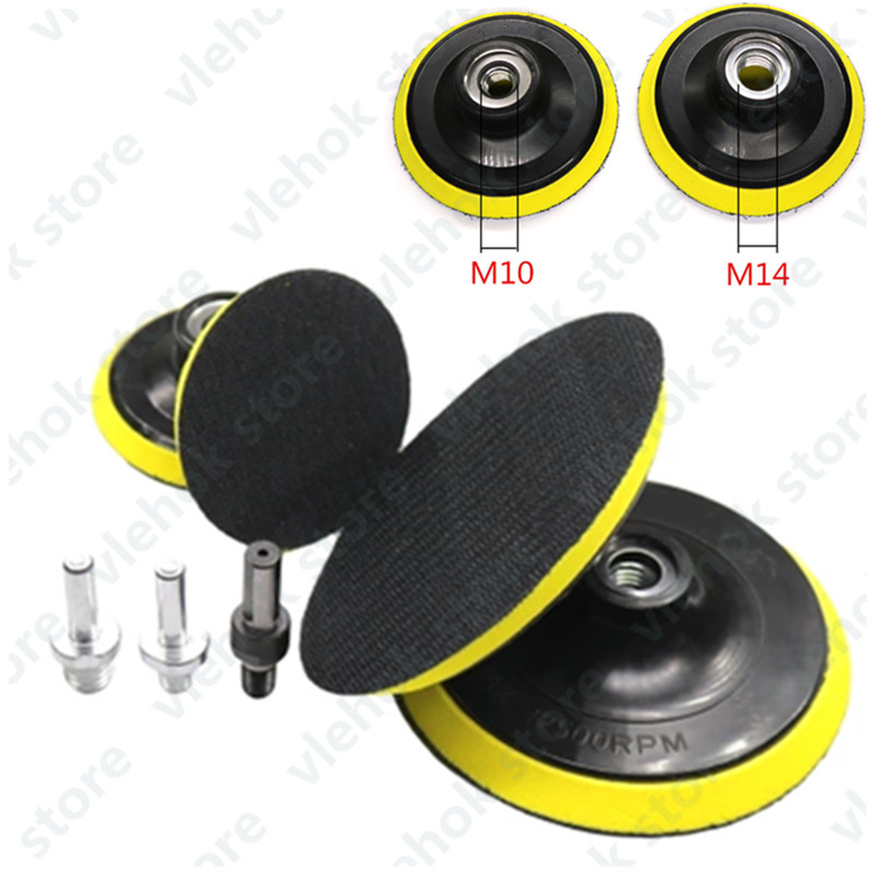 Basis Orbit Sander M10 M14 M16 80mm 100mm 125mm 150mm 180mm For BOSCH DeWALT HITACHI MAKITA Hilti Milwaukee WORX Polishing Disc
