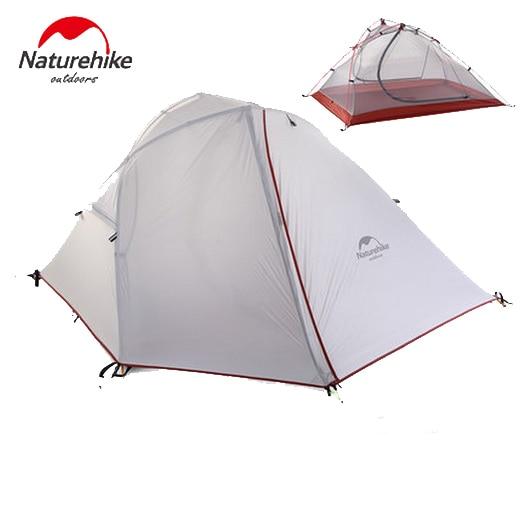 Tente de voyage de Camping en plein air naturel tente de couchage Double couche trois saisons pour NH16S012-S 2 personnes