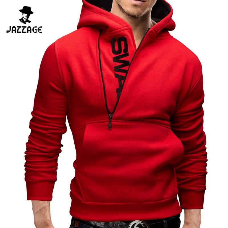 Hoodies Män 2018 Märke Sweatshirt Män Hoodies Fashion Solid Hoodie - Herrkläder - Foto 5