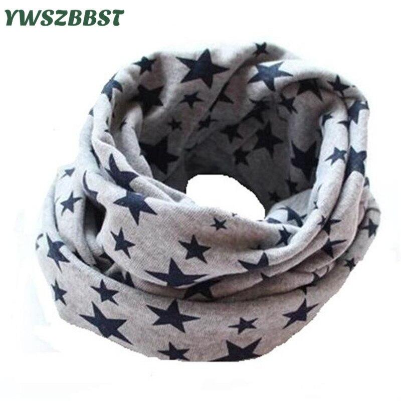 Fashion Stars bebé baberos Algodón bufanda del bebé Primavera invierno Cálido bufanda para niños y niñas Bufandas Infantiles