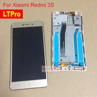 For Xiaomi Redmi 3S LCD Display Touch Panel Screen Digitizer Assembly With Frame For Redmi 3S